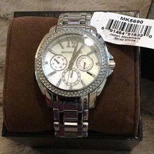 Michael Kors watch, never worn, still in box
